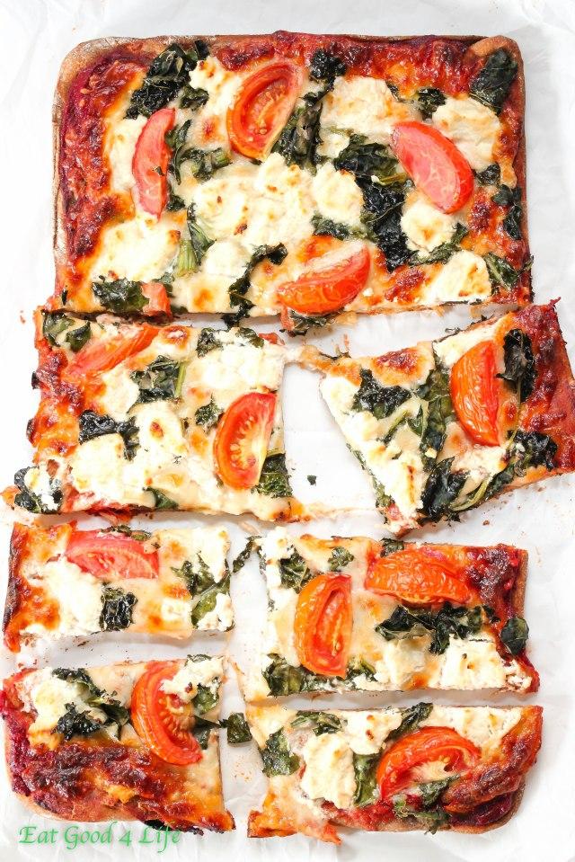 tomato-goat-kale-pizza