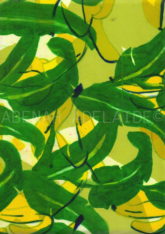 Banana Bliss by Abenah Adelaide ©